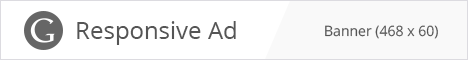 AdSense Banner Ad example